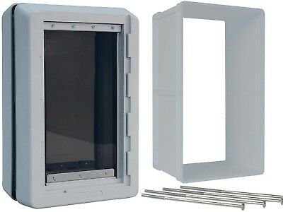 Ideal Pet Products Designer Series Ruff Weather Dog Door & WALL KIT---ALL SIZES