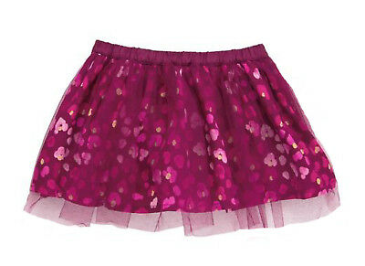 NWT Gymboree TAILS OF THE CITY Wine Pink Leopard Tulle Tutu Skirt FREE US SHIP