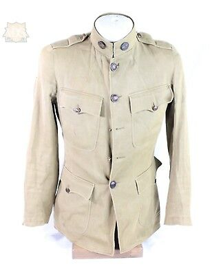 WW1 US Army Aviation Tunic-French Made Pin Back Collar Discs