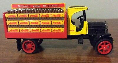 Coca Cola Diecast 1925 Beverage Truck Bank - Ertl Co.