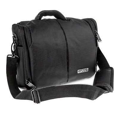 DSLR Digital Camera Bag Carry Waterpoof Case with Shoulder Strap, Nikon Canon