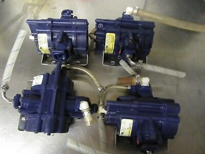 A21 Shurflo Lot Of 4  Syrup Pumps 166-200-07 Soda Fountain Beverage Bar