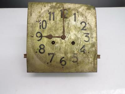 German-made A52 Junghans Wurttenberg Brass  Wall Clock Movement & Dial Part D308
