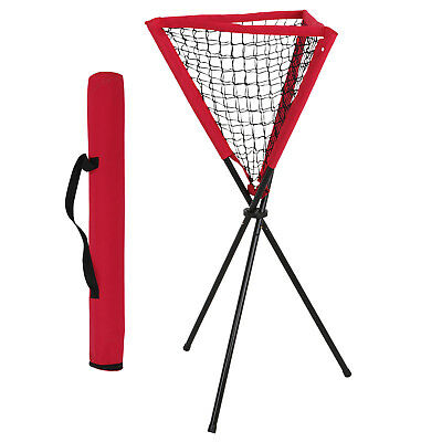 Portable Baseball Softball Batting Pitting Practice Ball Caddy w/Carrying Bag