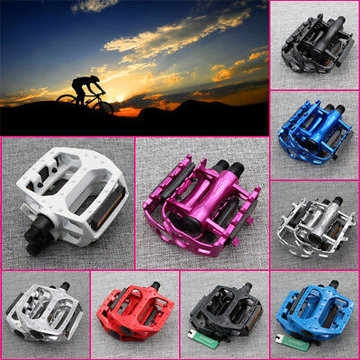 "9/16"" Cycling Alloy Flat-Platform Pedals Mountain MTB BMX Bike Bicycle Bearing"