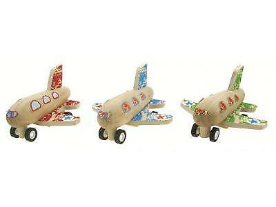 NEW Kids Pull Back Plane Transport Toy Toys