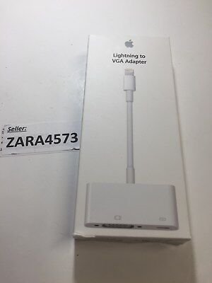 Genuine APPLE Lightning to VGA adapter MD825AM/A for iPhone, iPad, or iPod