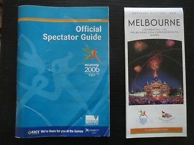 Melbourne 2006 Commonwealth Games Spectator Guide and Event Map