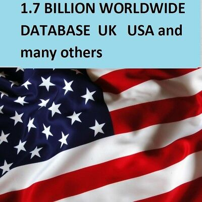 1700 Million Worldwide & U.S.A Email List  For  Marketing and Business
