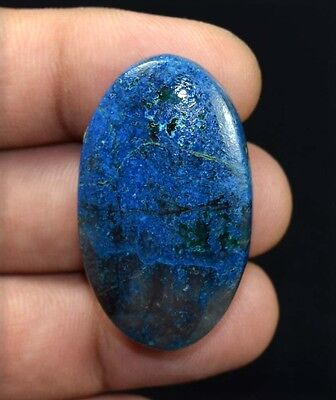 81.25 Cts. 100 % Natural A+  Chrysocolla Oval Cabochon Untreated Loose Gemstones