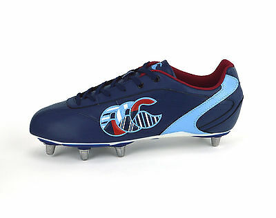Canterbury Phoenix Ii Club 8 Stud - Mens Rugby Boots - E22222 769 - Navy - Uk 13