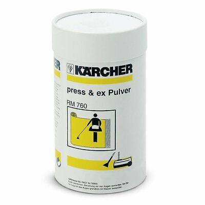 GENUINE KARCHER RM 760 Press & Ex Pulver Powder 800g For Puzzi 6290175 6.290-175