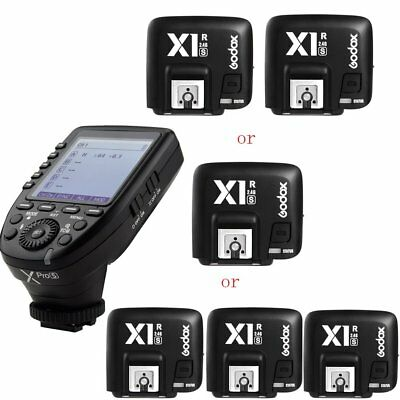 Godox Xpro-S TTL HSS 2.4G Wireless Flash Trigger +X1R-S Receiver For Sony Camera
