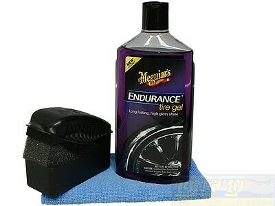 Meguiars Endurance Haute Brillance Kit Incl.tire Dressing Coussinet Et