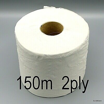 Paper Roll 2Ply Big 150m x 190mm Towel Cleaning glass wipe rag garage window wet