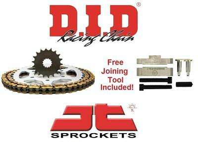 D.I.D & JT Chain And Sprocket Kit Set + Tool Yamaha FZ 1 N/S  06-15