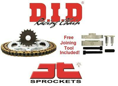D.I.D & JT Chain And Sprocket Kit Set + Tool Suzuki GSX600F W-K6 98-06