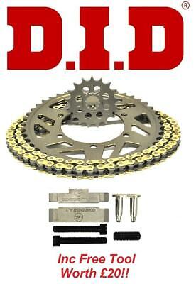 Aprilia 550 SXV 06-08 Heavy Duty HDR Chain /& Sprocket Set Kit
