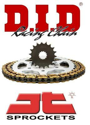 D.I.D & JT Chain And Sprocket Kit Set Suzuki GSF1250N/S K7-L5 (Inc ABS) 07-15