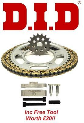 D.I.D VX Chain And Sprocket Kit Set + Tool Suzuki GSF1250N/S K7-L5 07-15