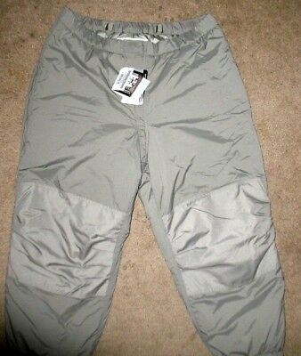 Primaloft Ex Cold Weather Insulated Trousers, ECWCS Gen III Level 7 NEW NWT