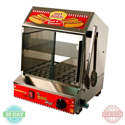 Hot Dog Steamer Sausage Rack Heavy-duty 20-Gauge Stainless Steel Removable Trays