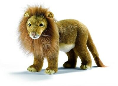 Lion Male Standing Plush Toy By Hansa 20cm. Shipping Included