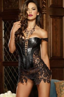 Dreamgirl Beyoncé Corset Incredibly Seductive With Thong Passionately Designed
