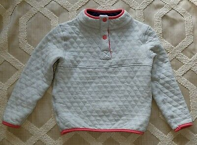 Marine Layer Corbet Reversible Fleece Pullover Sweater NWT Girl 2t Grey/