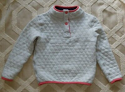 Marine Layer Corbet Reversible Fleece Pullover Sweater NWT Girl 3t Grey/