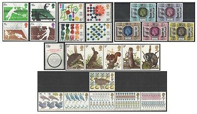 1977 Royal Mail Commemorative Sets MNH. Sold separately & as full year set.