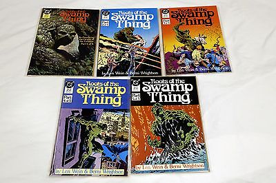 Roots of the Swamp Thing #1 2 3 4 5 1986, DC Lot