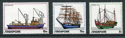 Singapore Scott 164-66 166 1972 Ships Shipping Industry , NH