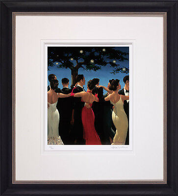 Jack Vettriano Waltzers Framed and Mounted Limited Edition Giclee