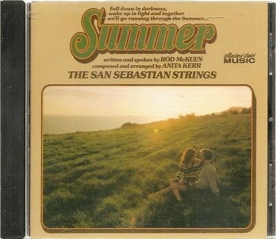Summer by The San Sebastian Strings Rod McKuen CD Collectors' Choice