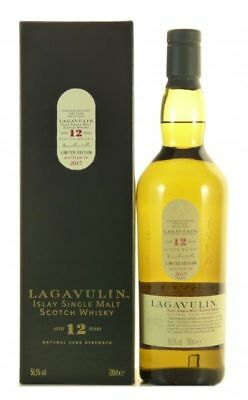 Lagavulin 12 Jahre 2017 Islay Single Malt Scotch Whisky 0,7l, alc. 56,5%