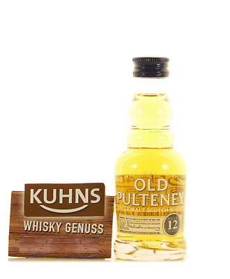 Old Pulteney 12 Jahre Miniatur Highland Single Malt Scotch Whisky 0,05l, 40 Vol.