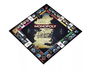 Winning Moves Game Of Thrones Monopoly Collectable/family/fun/gift New & Sealed