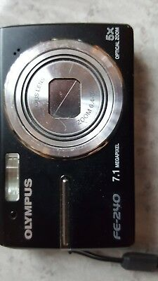 OLYMPUS DIGITAL CAMERA - FE-240 - 7.1 Megapixel - 5x Optical Zoom -free shipping