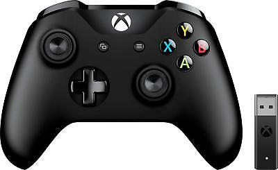 Open-Box Excellent: Microsoft - Xbox Wireless Controller + Wireless Adapter -...