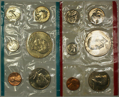 1975 P&D US Mint Set 12 Coins with No Envelope Special Price