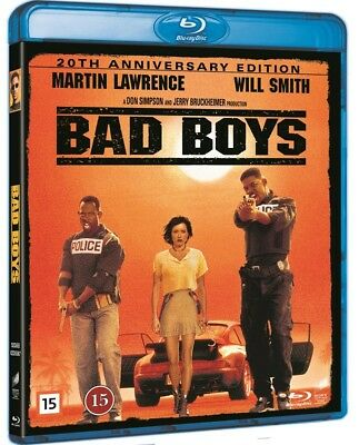 Bad Boys 20th Anniversary 4K Transfer Blu Ray (Region Free)