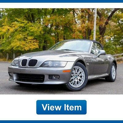 2002 BMW Z3 Roadster Convertible 2-Door 2002 BMW Z3 Roadster Auto Convertible Super Low 32K mi CARFAX Serviced!