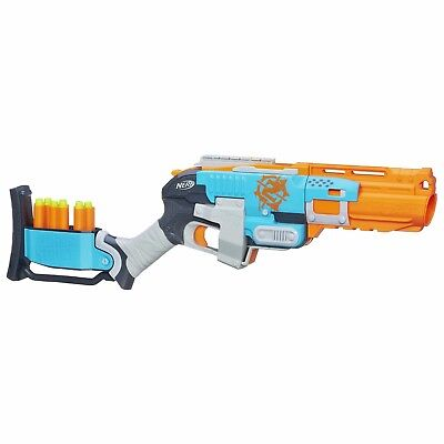 Nerf Zombie Sledgefire Sledge Fire Strike Dart Blaster Shot Gun Steam Punk West
