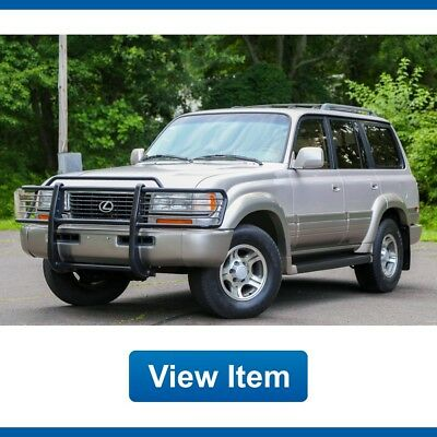 1997 Lexus LX Base Sport Utility 4-Door 1997 Lexus LX450 3rd ROW Tow Package Cd Changer CARFAX Land Cruiser FJ80