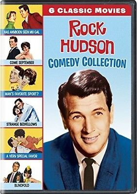 Rock Hudson Comedy Collection: 6 Classic Movies [New DVD]