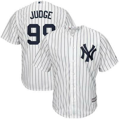New York Yankees Aaron Judge White Men's jersey