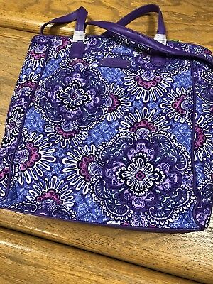 Vera Bradley NWT - Crosstown Tote - Lilac Tapestry - Retails $78