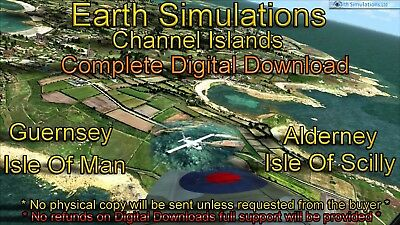 EARTH SIMULATIONS CHANNEL Islands X Digital Download FSX P3D
