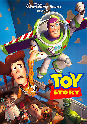 Toy Story Woody Buzz Movie Poster Print A5..A4...A3..A2  Options